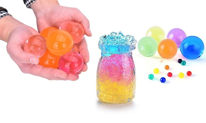 MARGOUN GENERAL TRADING: 50 (AED 39) or 100 (AED 59) Extra Large Multi-Purpose Water Gel Beads in Choice of Colour