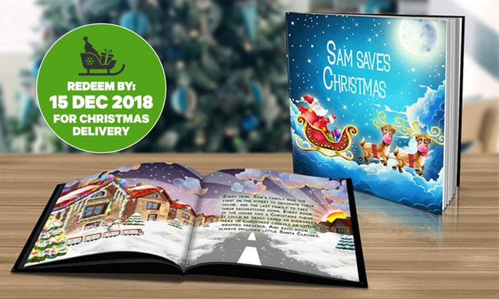 The Christmas Story Book.From 2 99 For A Personalised Children S Christmas Story Book In Soft Or Hard Cover Don T Pay Up To 79 98