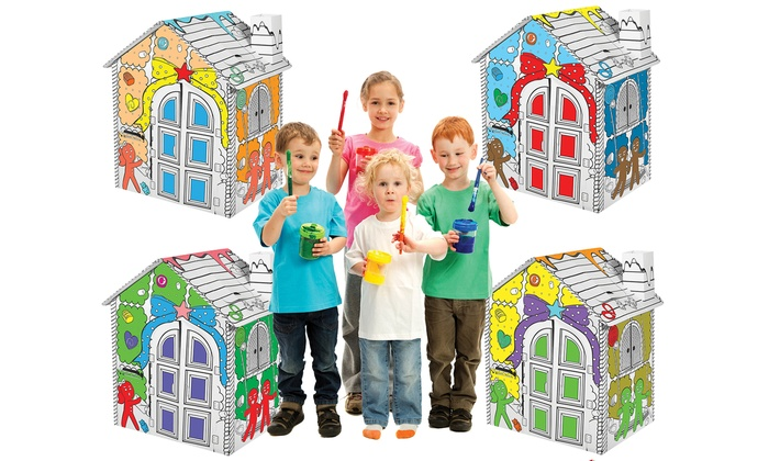 Up To 70% Off on My Little Coloring Playhouse | Groupon Goods