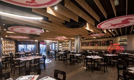 Bufé libre japonés para dos o cuatro personas desde 19,95 € en Inasia Sushi & Grill Japonés