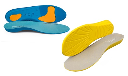 One or Two Pairs of Pro 11 Wellbeing Orthotic Insoles