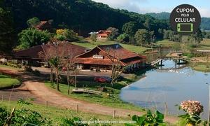 Parque Tomasini: Parque Tomasini – Gramado: visitação à mina de pedras preciosas e almoço colonial no forno a lenha