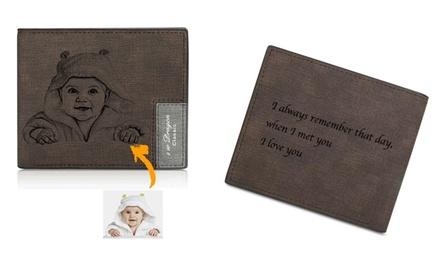 Billetera personalizada para hombre o mujer con Justyling (hasta 84% de descuento)
