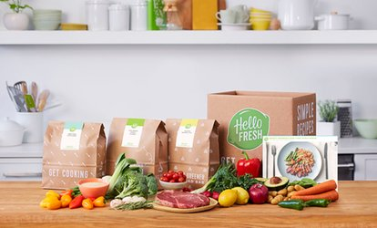 image for Recipes & Pre-Measured Ingredients To Cook At Home with HelloFresh (Up to 55% Off)
