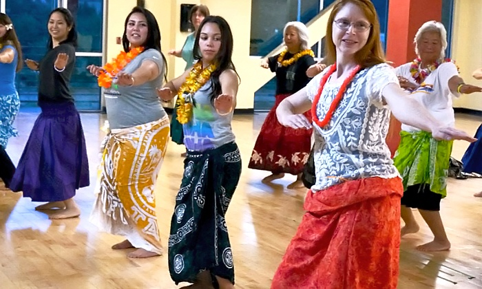 A Honu World of Hula - Harbour Pointe: 5 or 10 Island Grooves Hula Classes at A Honu World of Hula (Up to 55% Off)