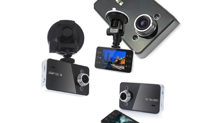 Groupon Goods Global GmbH: Cámara de vídeo grabadora para coche - 1080p por 12,98 €