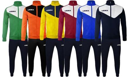 Tuta Legea sportiva con logo disponibile in 3 modelli , varie taglie e colori