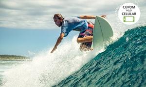 Nexus Surf: 1 aula de surf 1h para até 4 pessoas na Nexus Surf – Barra da Lagoa