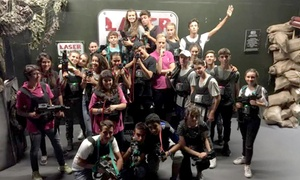 Laser Kombat: One or Two Games of Laser Tag for Two at Laser Kombat, Choice of Three Locations (Up to 54% Off)