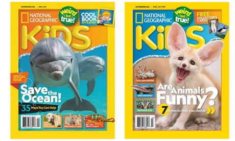 National Geographic Kids Magazine Subscription for Six Months, One Year, or Two Years (Up to 74% Off)