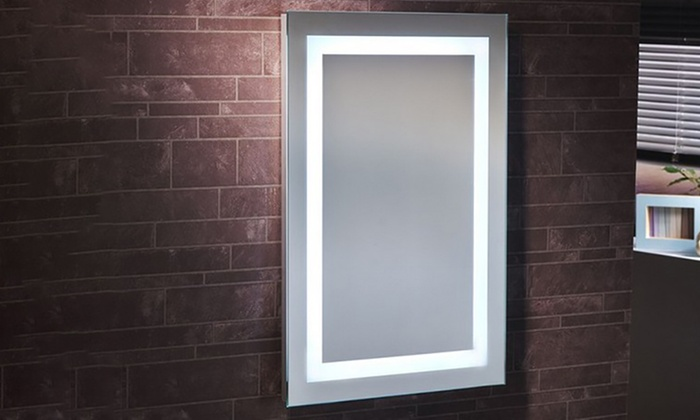 Sotto LED Battery Mirror