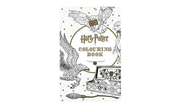 Colouring Book Secret Garden Enchanted Forest Animal Kingdom Harry Potter