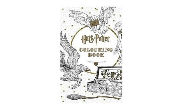 Colouring Book Secret Garden Enchanted Forest Animal Kingdom Harry Potter
