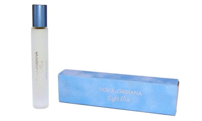 734d3cacfc16 Dolce   Gabbana Light Blue Eau de Toilette for Women (0.25 Oz ...