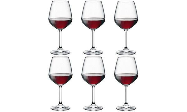 Set Di 6 O 12 Calici Da Vino Rosso Da 53 Cl Bormioli
