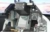 Simulateur de pilotage d'avion d'1h