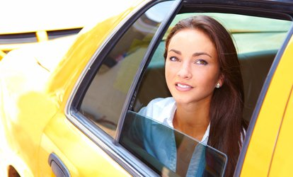 image for $39 for $70 Worth of Services — Shreeji <strong>Taxi</strong> Services