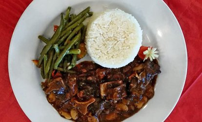 image for $18 for $30 Worth of Jamaican Food for Take-Out at Judy's Island Grill - Park Heights