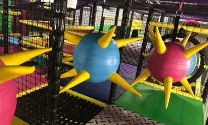 image for Kids Adventure Play with Meal for Up to Four and Adult Entry at Aerial Adventures (Up to 42% Off)
