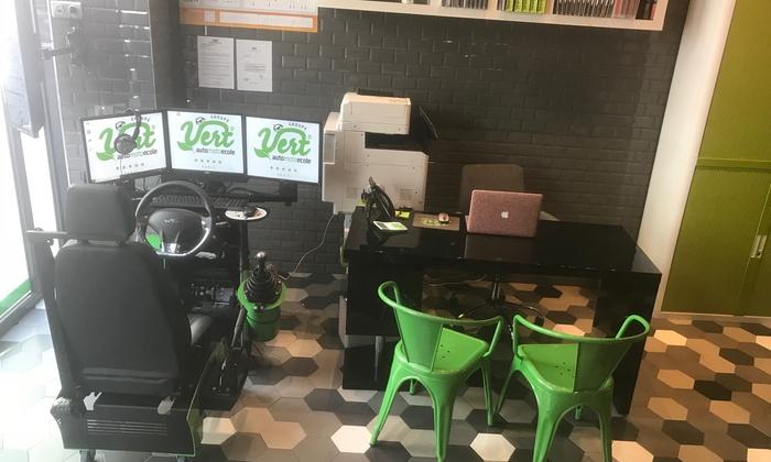groupe vert auto moto ecole g n ral leclerc al sia jusqu 39 73 paris groupon. Black Bedroom Furniture Sets. Home Design Ideas