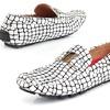 Jazz Men's Crocodile-Print Slip-On Loafers (Size 8.5)