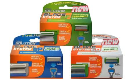 Hasta 20 cuchillas compatibles con Gillette Fusion, Fusion Power y Fusion Proglide