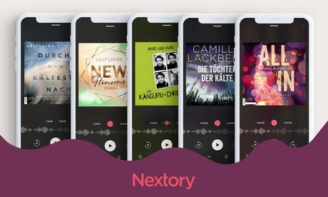 60 Tage gratis Hörbücher & E-Books: Nextory gratis testen & Zugriff auf +200.000 Bücher am Smartphon