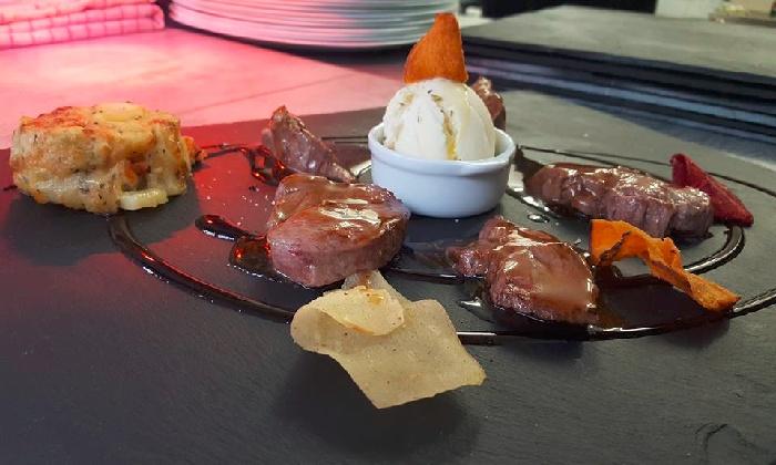 Repas gastronomique pour 2 ou 4 personnes au verre y - Restaurant viroflay le verre y table ...