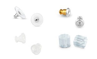 Earring Backs (6-, 40-, or 50-Pack)