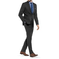 Braveman Mens Slim Fit Suits 2-Pc Multiple Styles Available Deals