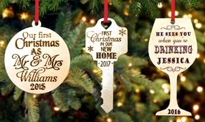 Cabanyco:  Fino a 3 ornamenti di natale personalizzabili per il tuo albero offerti da Cabanyco (sconto fino a 53%)