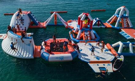 Acceso al parque acuático en Playa del Llevant; Santa Susana con Water Games (hasta 29% de descuento)
