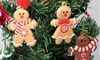 Gingerbread Man Christmas Tree Ornaments