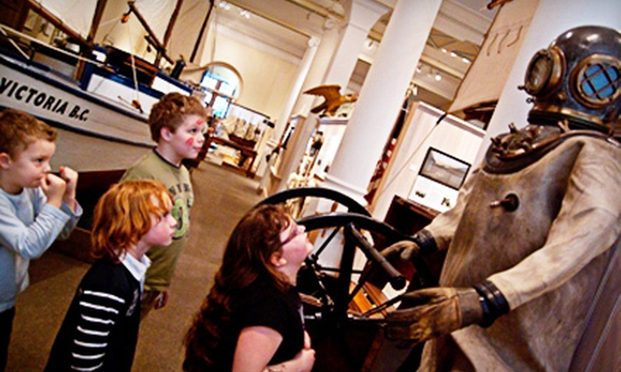 Maritime Museum of BC - Victoria: Maritime Museum of BC Visit for Two or Four (Up to 58% Off)