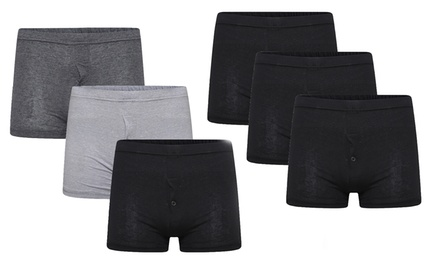 SixPack of Men's Jersey Boxers in a Choice of Colour