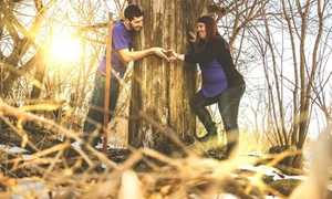 Gby Photography Omaha: 30-Minute Outdoor Photo Shoot with Retouched Digital Images from GBY Photography (75% Off)
