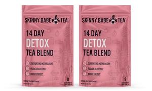Skinny Babe Detox Cleansing Tea Blend (1- or 2-Pack)
