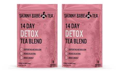 Skinny Babe Detox Cleansing Tea Blend (1- or 2-Pack)