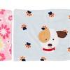 Animal-Themed Squeak Receiving Blanket