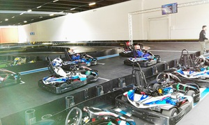 Torino Kart Indoor: Corsa in kart di 10 o 20 minuti o Gp per 5 o 10 persone al Torino Kart Indoor