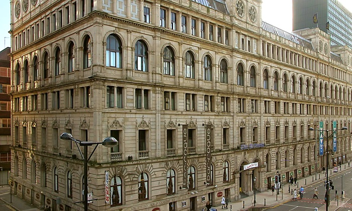 Britannia Hotel Manchester (UK) - City Centre: Manchester: 1 Night For Two With Wine from £49; Plus Dinner from £59 at Britannia Hotel Manchester (Up to 51% Off)