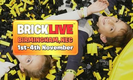 BrickLive on 14 November at NEC Birmingham