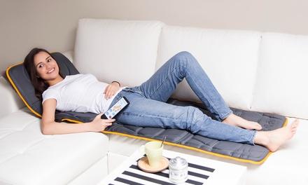 Matelas de massage gris 10 moteurs, pour soulager les douleurs dorsales