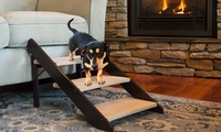 Convertible Stairs/Ramp for Small Dogs & Cats in Espresso or Birch
