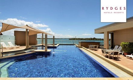 Port Macquarie: King or Twin Room for Two with Bottle of Wine and Late Check-Out at 4.5* Rydges Port Macquarie
