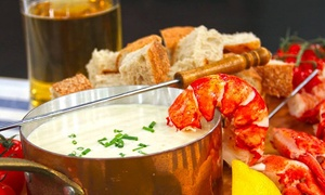 Sticks & Stones Grille: Three-Course Fondue Meal with Live Cooking Show for Two, Four, or Six at Sticks & Stones Grille (Up to 60% Off)