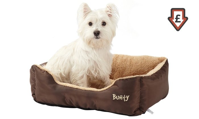 One or Two Bunty Fleece Lined Pet Beds From £5.99