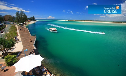 90Minute Smoothwater Classic Cruise for Child $5, Adult $15 or Family $40 from Caloundra Cruise Up to $60 Value