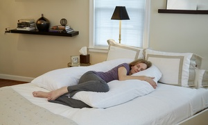 """Hermell Products 66"""" U-Shaped Body Pillow"""