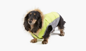 Wag & Bone Anorak Fur Puffer Dog Jacket